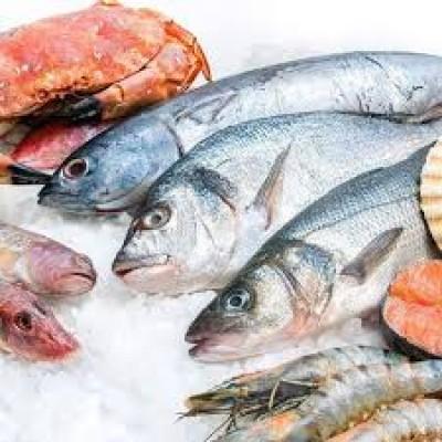 Seafood stall 海鲜档